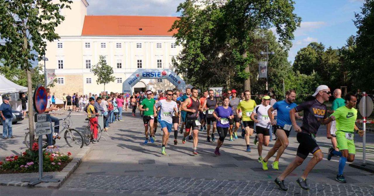 Start Wolkersdorfer Schlossparklauf