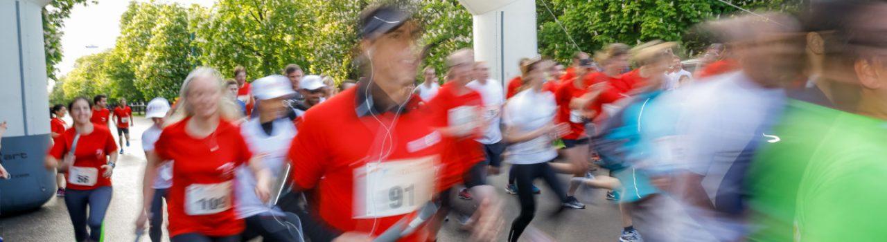 Start beim ESTRO 2020 Super Run