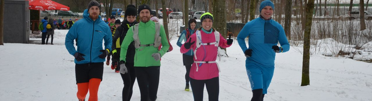 Läufer beim Vienna Winter Trail