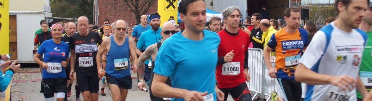 Läufer beim Start des Allander Marktlaufs