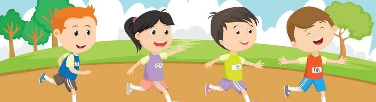 Läufer beim Sportfreunde Kinder Charity Lauf