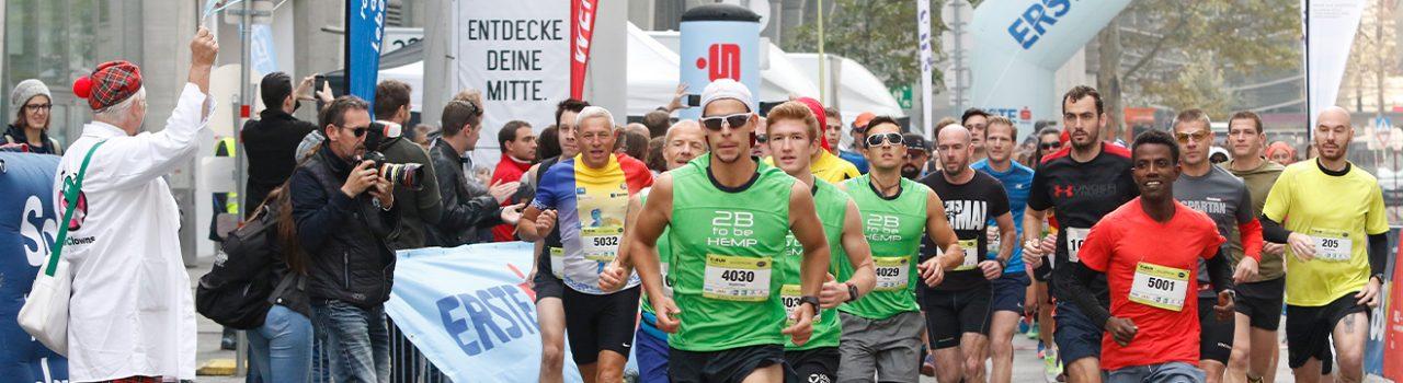 Läufer beim Start des C-RUN 10.55