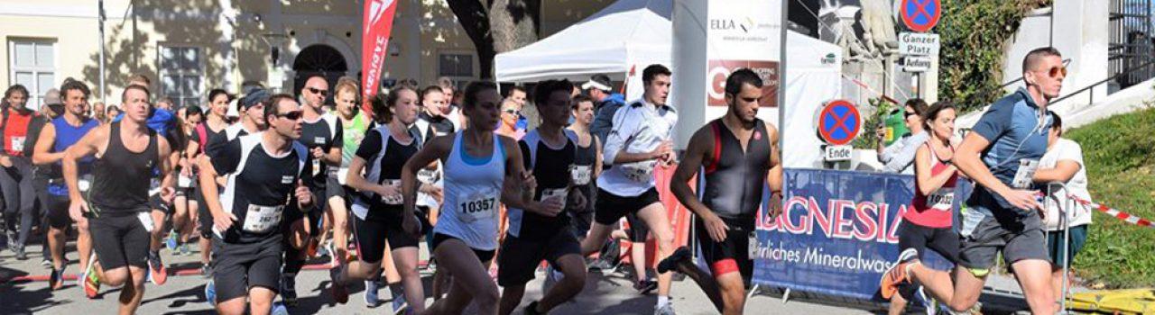 Start beim Gerasdorfer Stadtlauf
