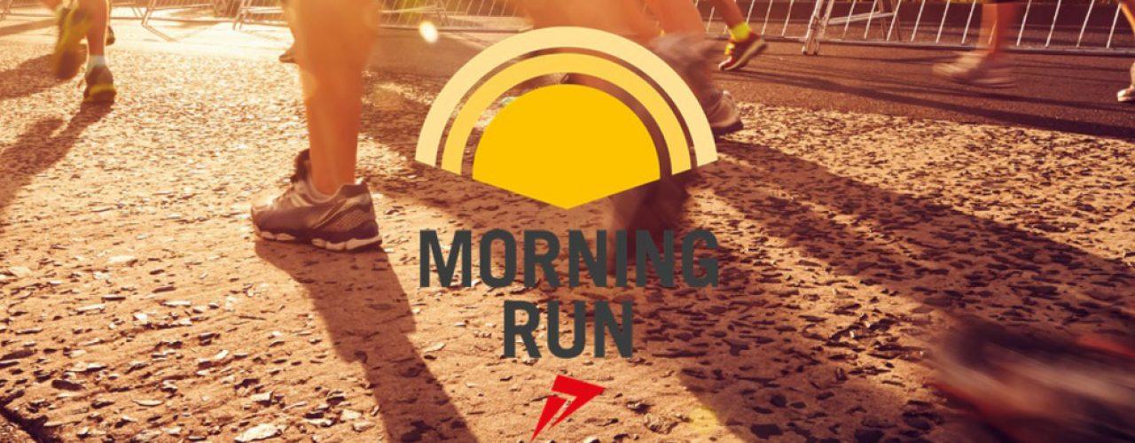 Morgenstimmung beim morning run.