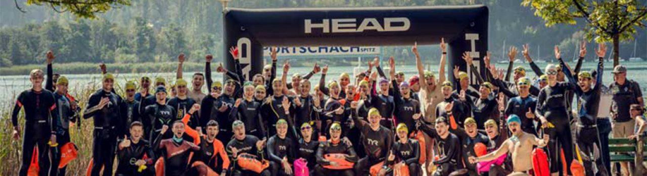 Erfolgreiche Teilnehmer am Wörthersee Swim