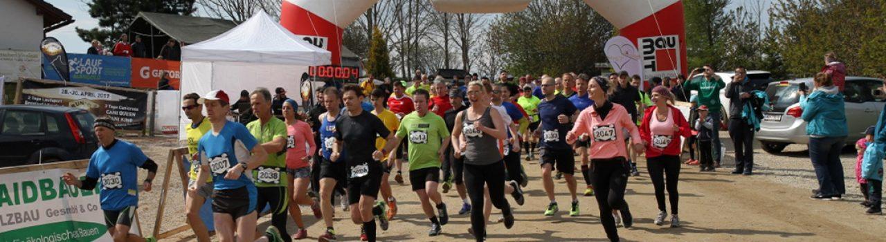 Läufer beim Start des Run To The Sun