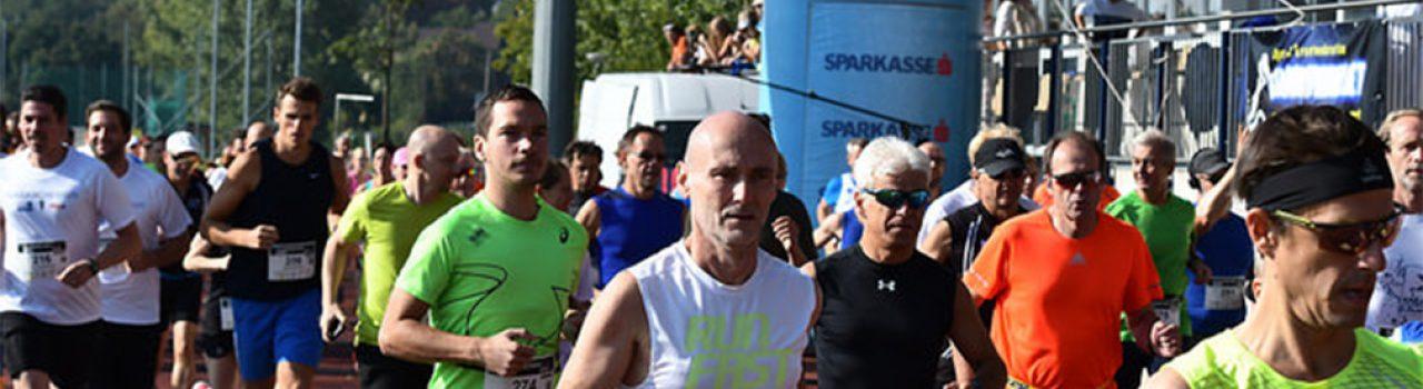 Läufer beim Start des Traiskirchen Run