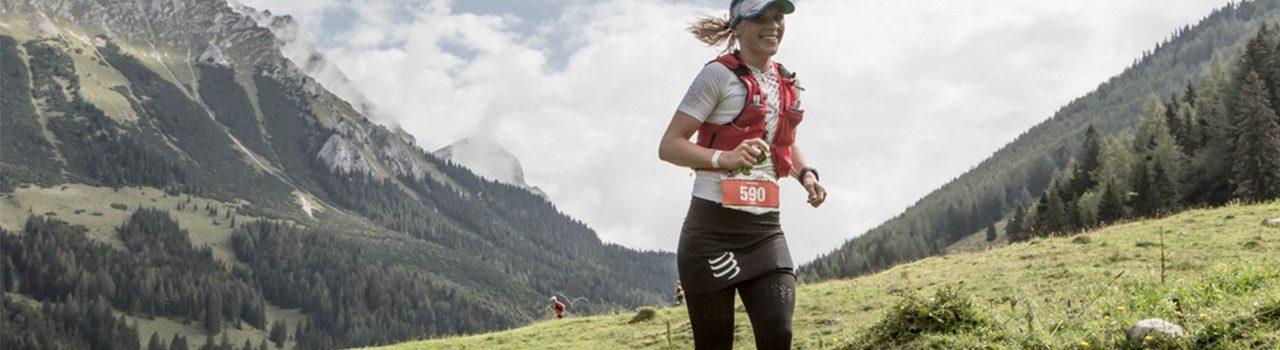 Trailläuferin auf der Phyrn