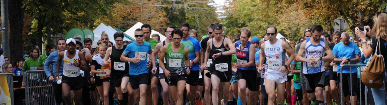 Läufer beim Start des Tierschutzlauf