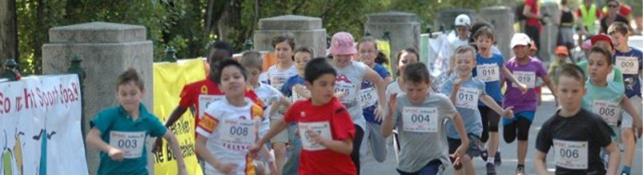 Kinder beim Spoki Summerstagelauf