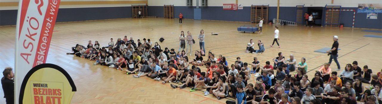 Kinder des Check your Limitz Sporttags
